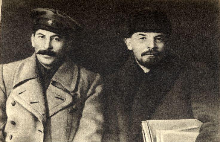 vladimir-lenin-and-joseph-stalin. This Day in WWII History: Mar 5, 1953: Joseph Stalin dies