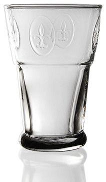 Fleur de Lys Maxi transitional cups and glassware