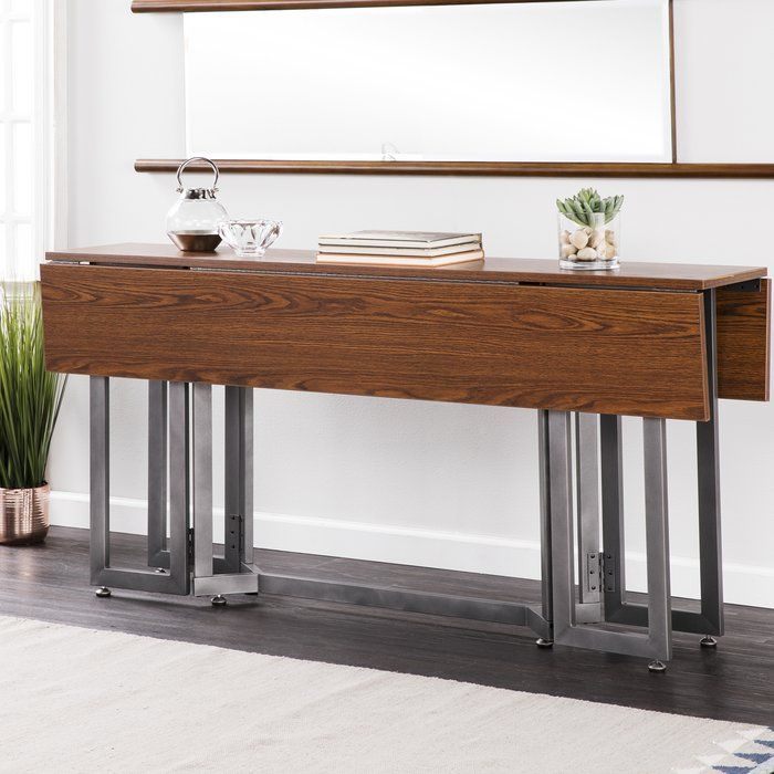 Eleanora Drop Leaf Dining Table Narrow Dining Tables Dining