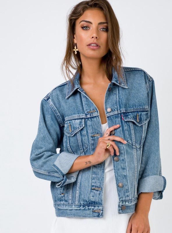 86fe58bfc5 Levi's Indigo Anthem Ex-Boyfriend Trucker Jacket | Princess Polly |  shopping - clothing in 2019 | Denim jacket fashion, Levi denim jacket