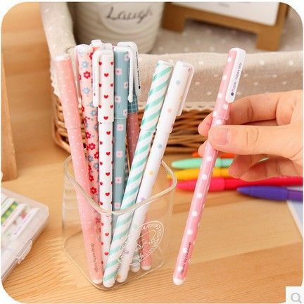 10pcs Kawaii Flower color gel pen cartoon animal 0.38mm colorful drawing pens Stationery Office school supplies papelaria 04035