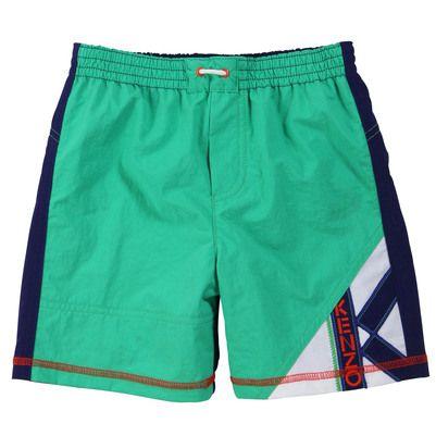 Kenzo Kids - Short de bain vert menthe - 30415