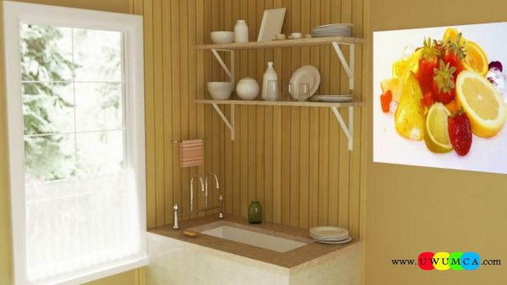 Kitchen:Corona Kitchen Ad Decor Cabinets Furniture Table And Chairs Remodel Kitchens 3d Model Free Download Countertops Layout Worktops Island Design Ideas 3ds Kitchenette Sketchup Kitchen Render 3 Colour You Won't Believe How Cool Corona Kitchen's 3D Ad Looks and Other Kitchen 3D Model