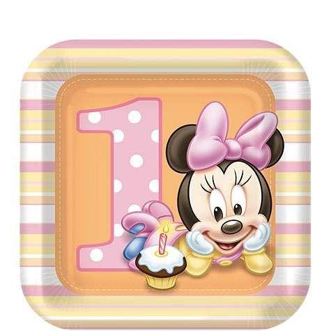 20 best images about minnie on pinterest disney - Feliz cumpleanos bebe 1 ano ...