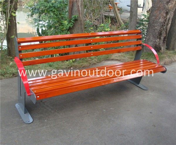 Wood Patio Benches Outdoor Solid Wood Bench With Back, View Solid Wood Bench,  Gavin