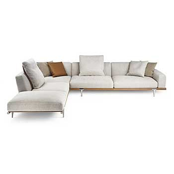 Let It Be Sectional Sofa by Poltrona Frau Switch Modern
