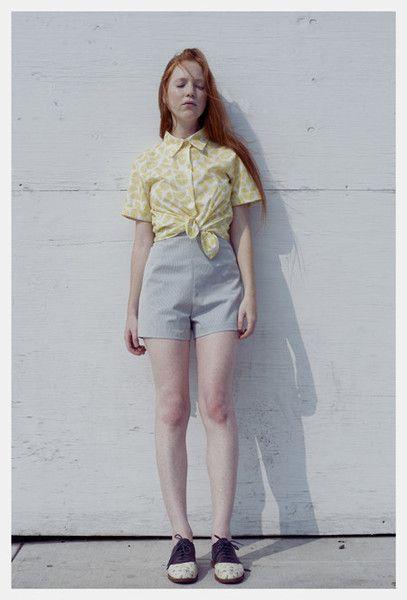 Lemon Twist Shirt by It's Okay My Dear