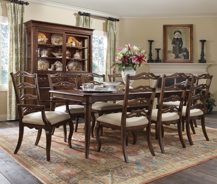Homecoming Nine Piece Dining Table  Kincaid  20 best Beautiful Bedrooms images on Pinterest   Kincaid furniture  . Kincaid Stonewater Tall Dining Table. Home Design Ideas