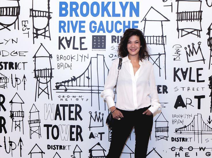Lundi soir, Le Bon Marché inaugurait l'événement Brooklyn Rive Gauche !  Merci à Mélanie Doutey pour sa présence. #BrooklynRiveGauche #LeBonMarche #Brooklyn #event #evenement #williamsburg #newyork #shop #nyc