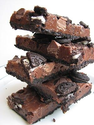 Double Chocolate Cookie BarsDesserts, Double Chocolates, Chocolates Chips, Cookie Bars, S'More Bar, S'Mores Bar, Food, Chocolates Cookies Bar, Heidi Baking