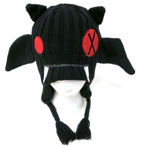 1978b158661 Bat Animal Knit Hat with Ear Flaps