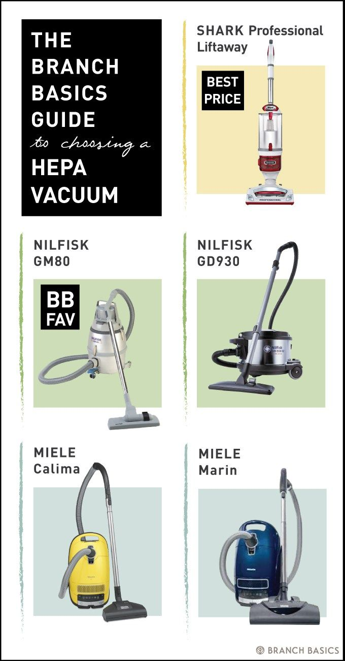 Which HEPA sealed vacuum is best for your home? | Branch Basics