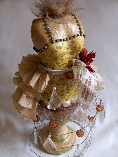 Scupty clay dressform | Artistic Journey 2012 ~ French Couture Delight In All Things Altered ...
