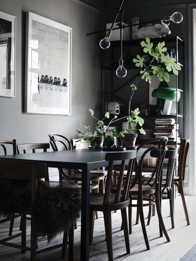 Darker side of Scandinavian style