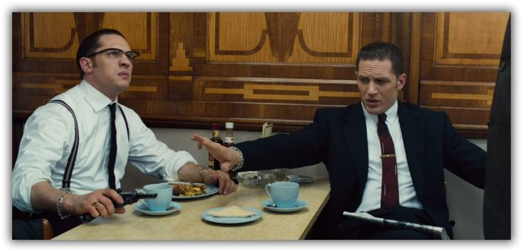Reggie and Ron Kray - Tom Hardy is phenomenal in this film.