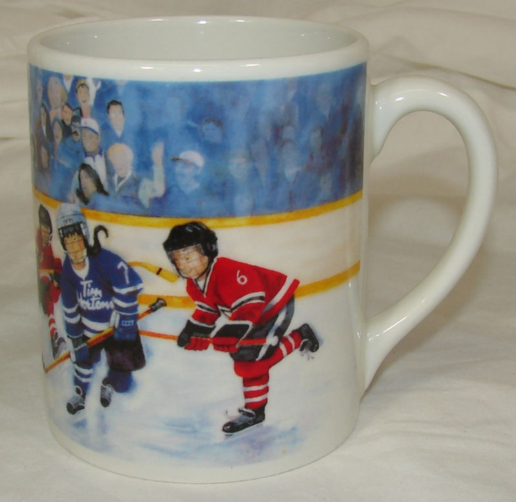 Tim Horton's Coffee Mug/Cup #2 2002 Winning Goal Ice Hockey, Ltd Edition Hortons | eBay