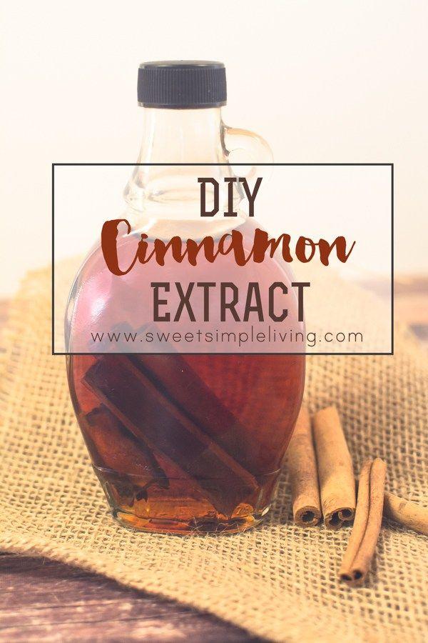 DIY Cinnamon Extract