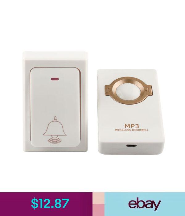 Brand Wireless Doorbell Remote Button+Receiver MP3 Digital Long Range Waterproof