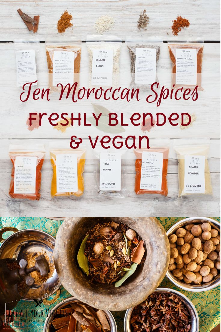 An ideal item for anyone who loves Moroccan cooking or is looking to get  started! All spices will come in its own individually packed and sealed  bag to retain goodness and freshness, and avoid spillage during  transit. #ad (affiliate link)