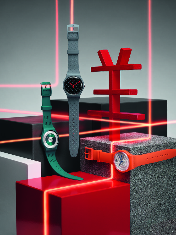 """32 years after the launch of the very first Swatch, the brand is still an innovative force not to reckon with. Their latest addition is called """"Tech-mode"""""""