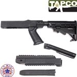 TAPCO INTRAFUSE 6-Position Takedown Rifle Stock System, Black - fits Ruger 10/22