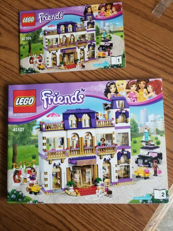 Lego Friends Heartlake Grand Hotel 41101 New Instruction Manual