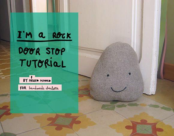 Sew a super fun decorative doorstop with this tutorial from @MisakoMimoko eva !