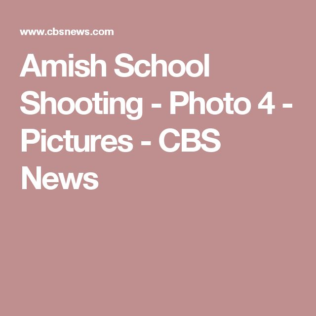 Amish School Shooting - Photo 4 - Pictures - CBS News