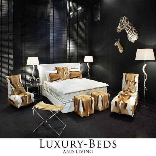 Sjeldent, vilt, luksuriøst. Det er slik ditt soverom skal være.