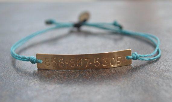 Phone Number Bracelet, Emergency Bracelet, Identification Bracelet, Contact Info Bracelet, Safety Bracelet, Call My Mom