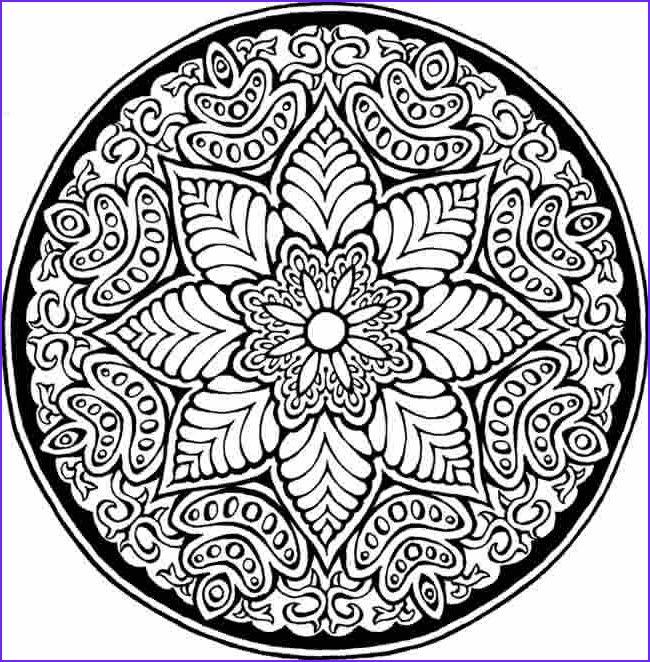 13 Elegant Detailed Coloring Books Photos Mandala Coloring Pages