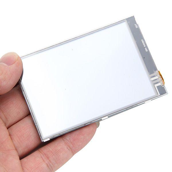 Geekcreit® Ecran tactile LCD 320 x 480 TFT de 3,5 pouces Touch Board pour framboise Pi 3 Modèle B RPI 2B B +