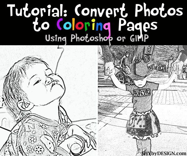 49+ How to turn a picture into a coloring page on pixlr download HD