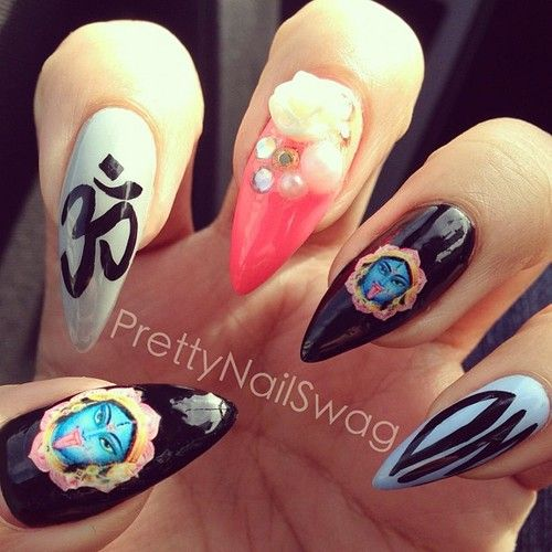 99 best nail art images on pinterest adhesive colors and couture nail art tumblr prinsesfo Choice Image