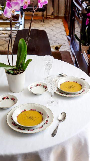 Cream of zucchini and chickpea soup | Tera Solara
