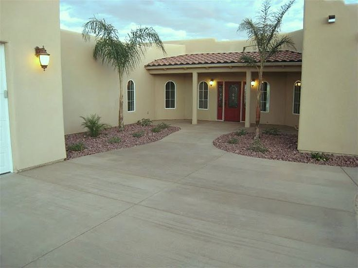 Photos By Application  Colored Concrete Driveways  Concrete color Concrete driveways