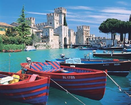 Garda Lake boats