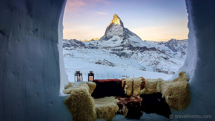 #Igloo Village #Zermatt #Switzerland