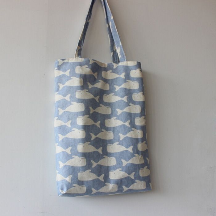 $3.19// Whale Canvas bag// Delivery: 2-4 weeks