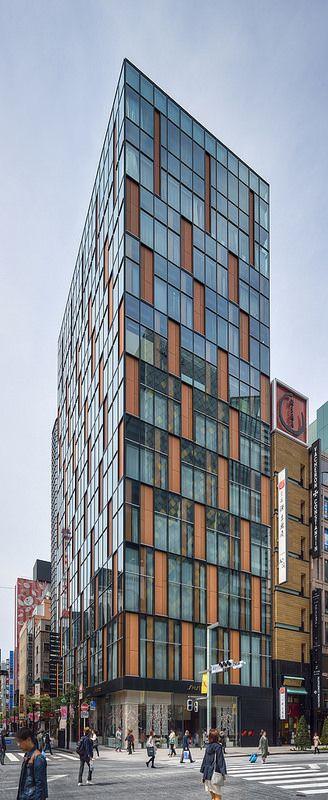 FUKUHARA GINZA / Architect : Taro Ashihara Architects (設計:芦原太郎建築事務所).