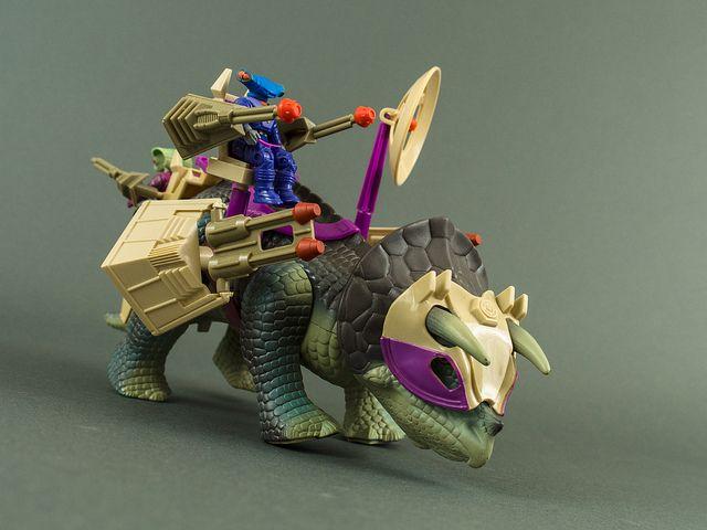 Dino Riders Triceratops-2 | Flickr - Photo Sharing!