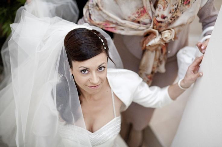 Acconciatura matrimonio sposa