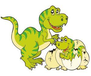 Una familia de Tiranosaurio Rex GAME
