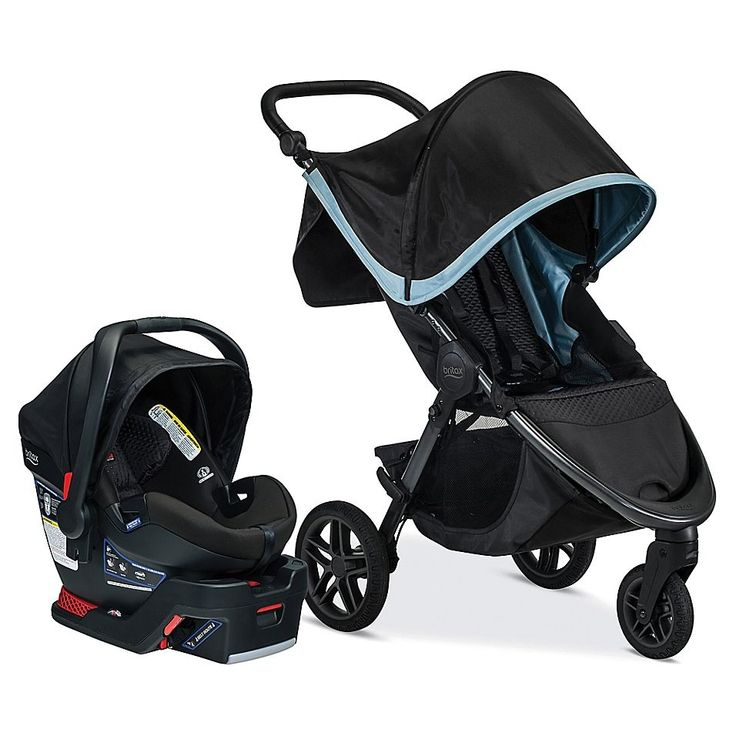 Britax B-Free And B-Safe Ultra Travel System In Frost ...