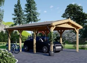Wooden Garages & Timber Carports [Prefab Kits For Sale ...
