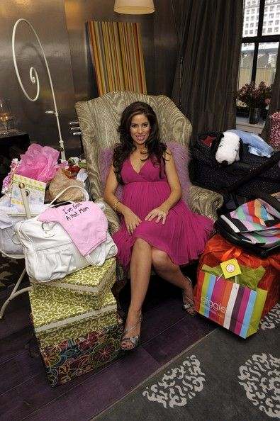 A colorful baby shower for Ana Ortiz!