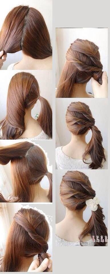 quick hair style tips