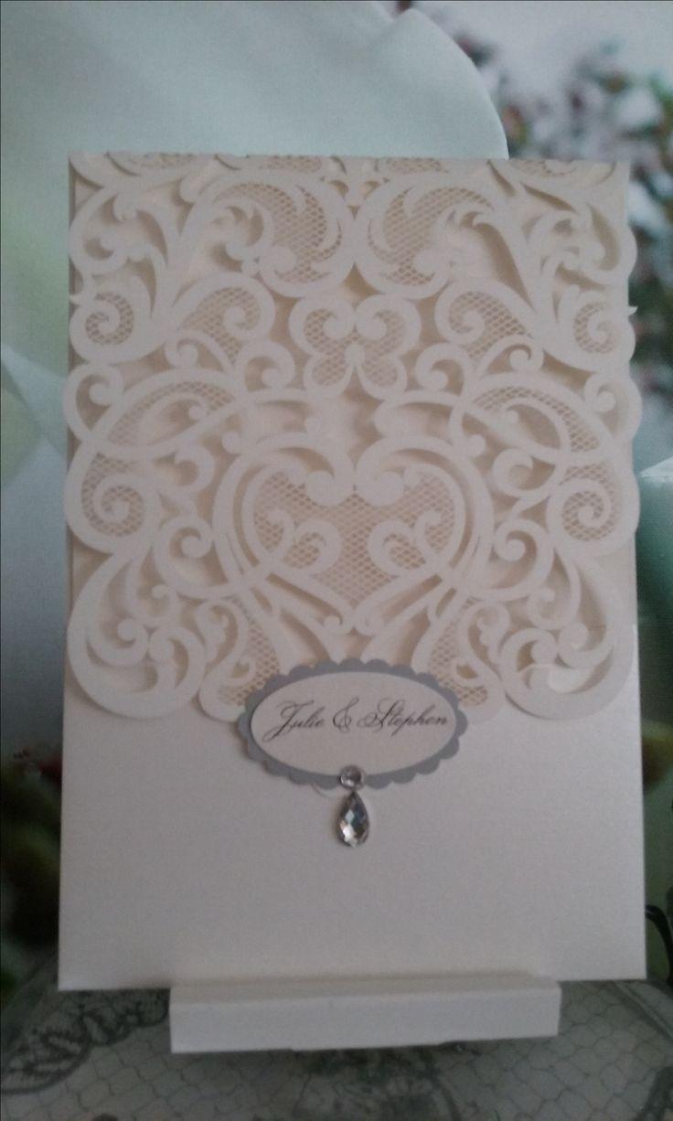 Best 15 Handmade wedding invitations. images on Pinterest
