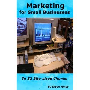 Reviewed by Bil Howard for Readers' Favorite  Even having the correct chairs in your office can make a huge difference in your marketing and that is where Owen Jones begins in Marketing for Small Businesses in 52 Bite Sized Chunks. A business owner has to be relaxed and comfortable before setting out on the marketing adventure. One of the most daunting challenges in starting and maintaining a small business is marketing. Owen Jones explains how to set up and properly direct your campaign in…