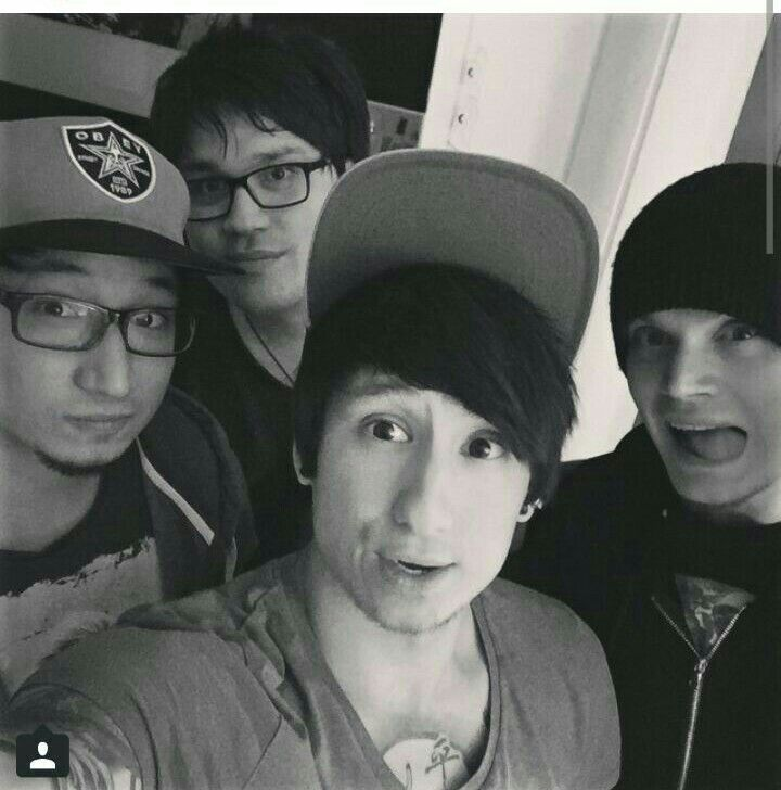 Julien Bam <3 with Vincent, Viktor and his broter